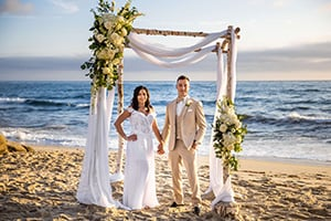 Elopement Package Option: Tropical